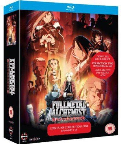 Fullmetal Alchemist Brotherhood Complete Collection One (1-35) [Edizione: Regno Unito]
