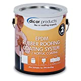 Dicor RP-CRCT-1 EPDM Roof Acrylic Coating - 1 Gallon, Tan