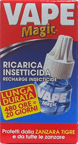 VAPE MAGIC Ricarica Insetticida Emanatore Elettrico 480 H 36 ML
