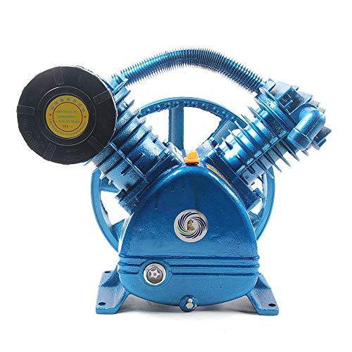 181PSI Air Compressor Pump Head,5.5HP 21CFM V Type Twin Cylinder Air Compressor Pump Head Double Stage