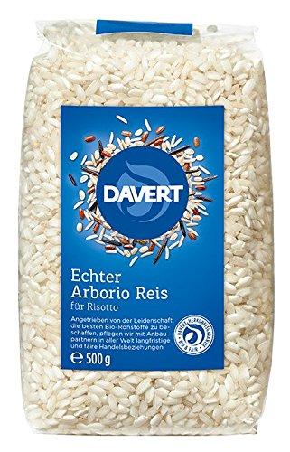 Davert Mühle Bio Echter Arborio Reis (8 x 500 gr)