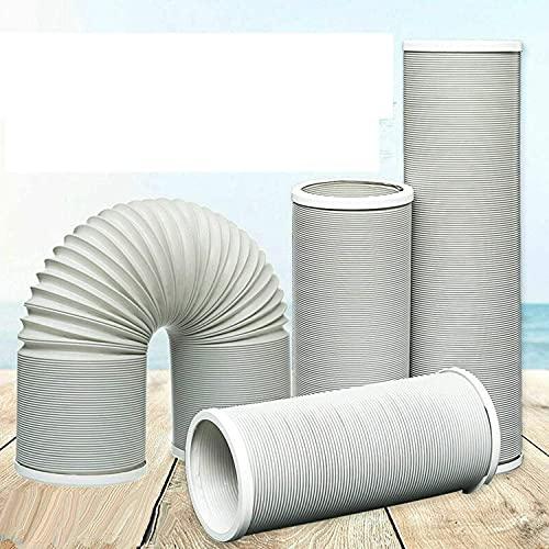 150cm 200cm 300cm Abluftschlauch Ø 13cm 15cm PP für Mobil Klimaanlage Klimagerät (Ø 15cm,L 1.5M)