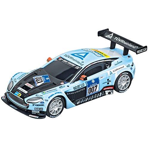 Carrera Go - 20061280 - Radio Commande, Véhicule Miniature et Circuit - Aston Martin Vantage GT3 - Young Driver - No.007
