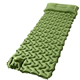 OTHWAY Camping Sleeping Pad Self Inflating Camping mat Foot Press Inflatable Pad Air