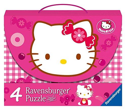 Ravensburger 07263 - Hello Kitty: Süße Hello Kitty - 2X 25 / 2X 36 Teile Puzzlekoffer