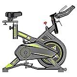 KFJCMY Manubri E Sedili Regolabili per Bici da Esercizio, Display Elettronico LCD, Sensore di Frequenza Cardiaca, con Ruote Mobili Portatili, Adatto per Palestre per Ufficio