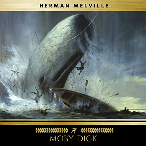 Moby-Dick audiobook cover art
