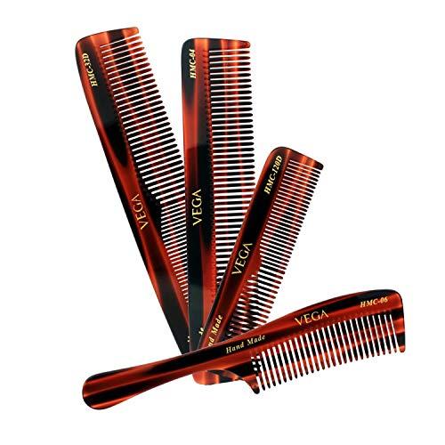 Vega Set Of 4 Hand Made Comb
