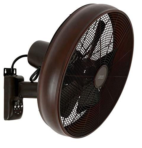 Ventilateur mural oscillant Bronze modèle Breeze 213125 Beacon