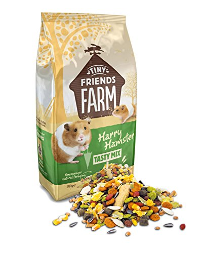 Supreme Tiny Friends Farm Harry Hamster Tasty Mix 6 packs of 700g