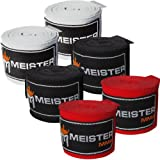 "Best Hand Wraps - Meister Adult 180"" Hand Wraps for MMA Review"