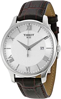 Tissot Men's T0636101603800 Tradition Analog Display Swiss Quartz Brown Watch