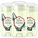 Old Spice Aluminum Free Deodorant for Men, Deep Sea With Ocean Elements Scent, Inspired by Natural Elements, 3 Ounce, Pack of 3