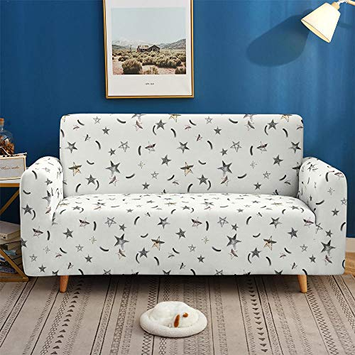 HXTSWGS Loveseat Couch Covers,3D Sofa Covers, non-slip elastic Stretch Sofa Cover for Living Room Couch Cover L shape-SF 039_3-seater 190-230cm