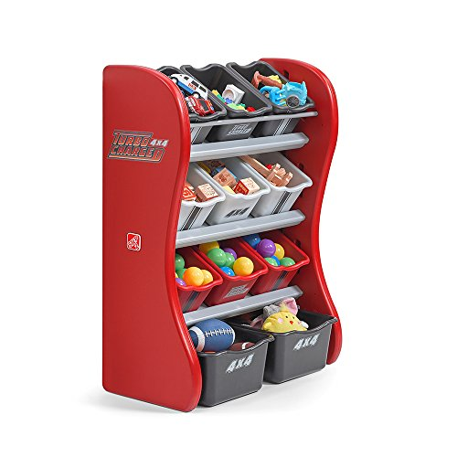 Step2 Turbocharged Room Organizer, Red