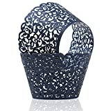 KPOSIYA Pack of 120 Cupcake Wrappers Artistic Bake Cake Paper Cups...