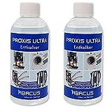 Descalcificador para aparatos eléctricos, 2 x 500 ml (7728.2) – Proxis Ultra descalcificador de agua, hervidor de agua, cabezal de ducha, descalcificador líquido, cafeteras automáticas