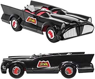 Figures Toy Company DC Comics Retro Batman Batmobile Playset (Black)