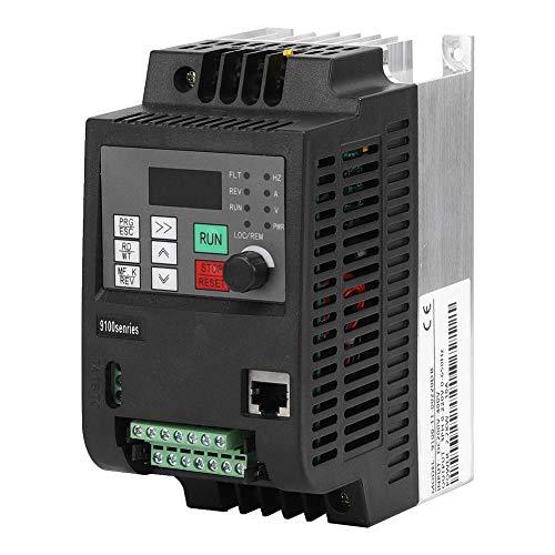 VDF Inverter, MPPT Inverter solare Convertitore di Frequenza Fotovoltaico DC200-400V Ingresso Trifase AC 0-220V Uscita PWM Frequenza Diver Inverter Trasformatore((2.2KW))