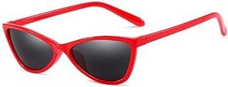 DAYUFEI - Gafas de Sol de Ojo de Gato de plástico de Moda para Hombres y Mujeres Gafas de Sol Negras Retro Gafas de Sol de Mujer Uv400