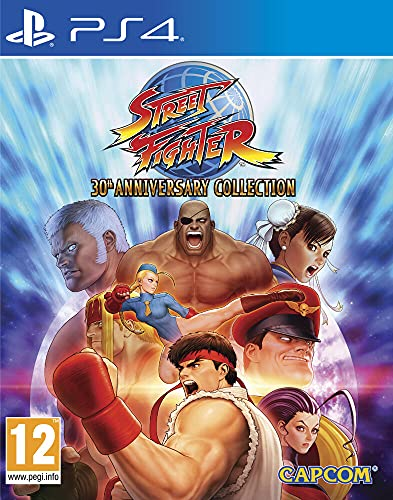 Street Fighter 30th Anniversary Collection pour PS4