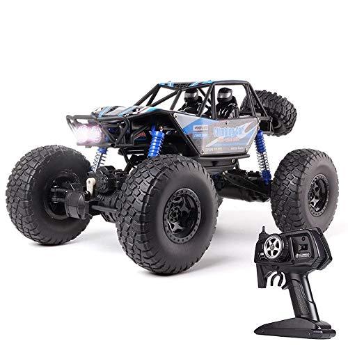 OUUED RC Car Remote Control Vehicle 1/10 4WD 2.4Ghz Bigfoot Trucklaadbaksystemen 48cm vierwielaandrijving High-speed SUV Children's Racing Toy Rock Crawler beklimmen van de batterij Double Wireless jo
