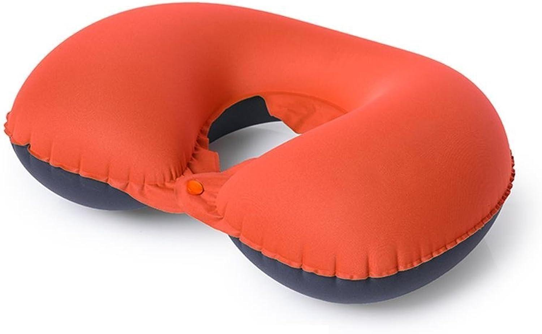 U-förmiges Kissen InflatableTravel bewegliches zusammenklappbares Nackenkissen-Flugzeug-Kissen U-förmiges Kissen-aufblasbares zervikales Kissen-Speicher-kompakte Exfiltration B07B6WXYYK  Flut Schuhe Liste