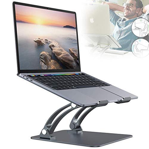 Notebook Stander Laptopstander Demontierbar Mit Beluftung Tragbarer Notebook Stander Kompatibel Mit Laptop 10 Inch17inch MacBook Proair Huawei Matebook