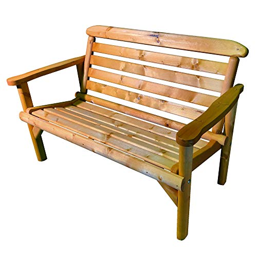 Simply Wood Ceremony Wooden Garden Bench 4ft (2 Seater) - SALE!!! SALE!!! SALE!!!