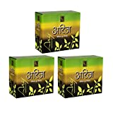 Zed Black Premium Dhoop with Stand Incense Stick - Pack of 3