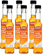 Gumout 510013 High Mileage Fuel Injector Cleaner, 6 oz. (Pack of 6)