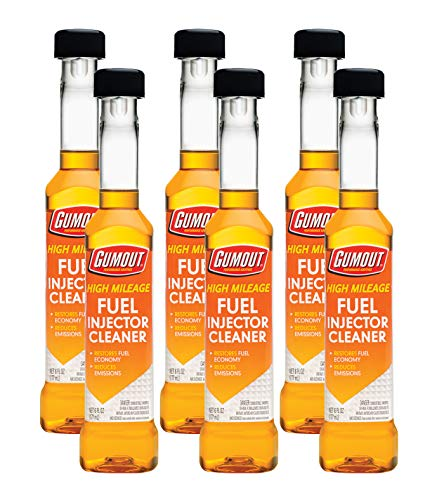 Gumout 510013 High Mileage Fuel Injector Cleaner,...