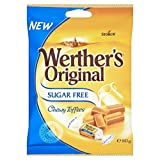 Werthers Toffee Zuckerfrei 80G - Packung mit 2 -