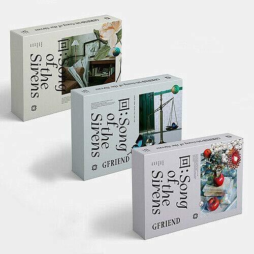 GFRIEND SONG OF THE SIRENS Album 3 VER SET 3 CD+3 Fotobuch+9 Karte+3 Paper+etc+TRACKING CODE K-POP SEALED