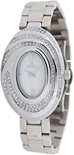 Sunex Women's Silver Dial Stainless Steel Band Watch S0350SW