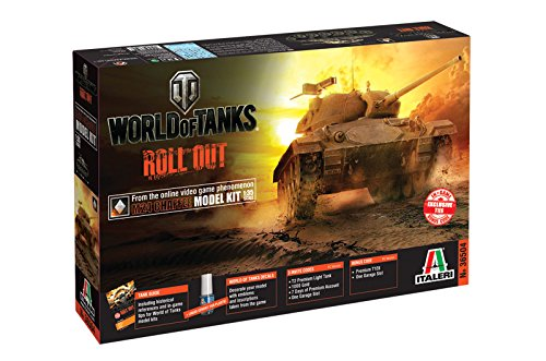 Italeri 510036504 - 1:35 US M24 Chaffee Panzer World of Tanks