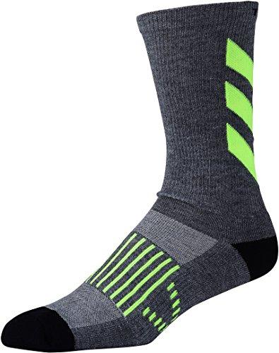 Troy Lee Designs 853628955 Performance Crew Sock Escape Gry/Flo Yel10-13