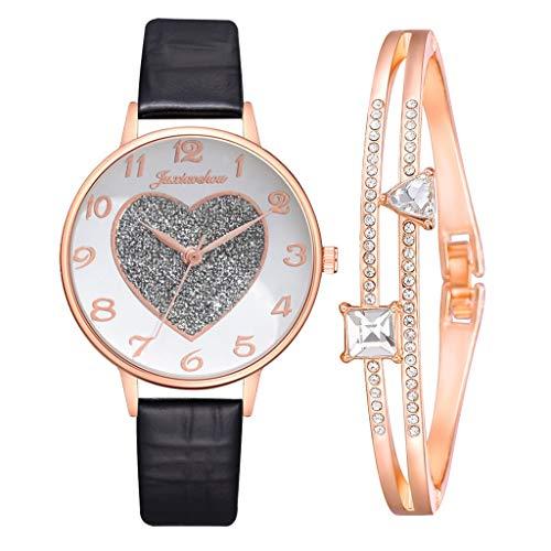 Reloj Fácil de las mujeres a Lee Dial correa de reloj reloj del corazón for el regalo del aniversario de boda cumpleaños graduación for el amor Amigo de la mamá Relojes grabados Accesorios de