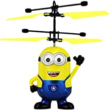 YOYOTOY Saleaman Mini Rc Despicable Drone S Helicopter Qua Opter Drone Flying Sensory Toy for Kids for Children Toddler Must Haves 7 Year Old Boy Gifts My Favourite Superhero Toys