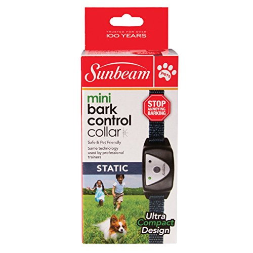 Sunbeam Mini Static Bark Control Dog Collar