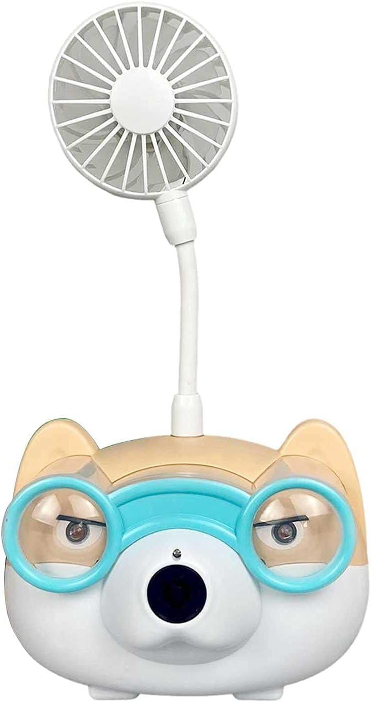 Gaohm Bubble Machine,Kids Bubble Machine with Fan Automatic Bubb