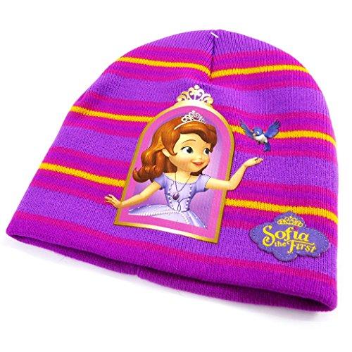 Disney Princesses [L7840] - Bonnet enfant 'Princesse Sofia' violet jaune