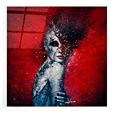 Epic Art 'Indifference' by Mario Sanchez Nevado, Acrylic Glass Wall Art, 12'x12'