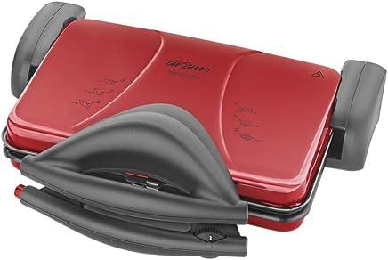 Arzum AR286 Izgara Ve Tost Makinesi, Metal Plastik Teflon, Kırmızı