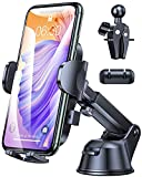 Car Phone Holder Mount, 2021 Upgrade Phone Car Mount Universal 3-in-1 Car Phone Mount for Car Dashboard Windshield Air Vent, Cell Phone Holder for Car Compatible with All Phones iPhone Samsung