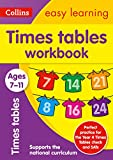 Times Tables Workbook Ages 7-11: Prepare for School with Easy Home Learning (Collins Easy Learning)