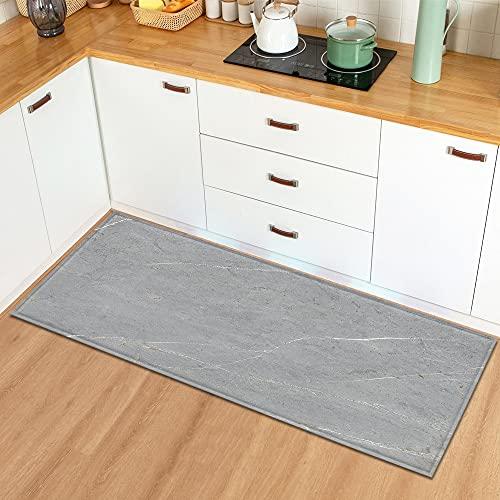Cucina stuoia per la casa ingresso stuoia soggiorno pavimento lungo tappeto marmo modello bagno antiscivolo tappeto NO.14 60X180cm