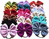 Toptim Baby Girl's Headbands and Bows for Newborn Infant Toddler Photographic Accessories (18...