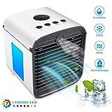 Nifogo Air Portable Cooler Condizionatore Portatile - 3 in 1 Mini Raffrescatore D'aria Evaporativo...