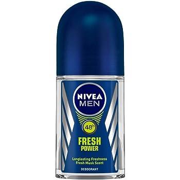 NIVEA Men Deodorant Roll On, Fresh Power, 50ml